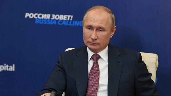 Путин сравнил качество жизни россиян в2000 году исейчас