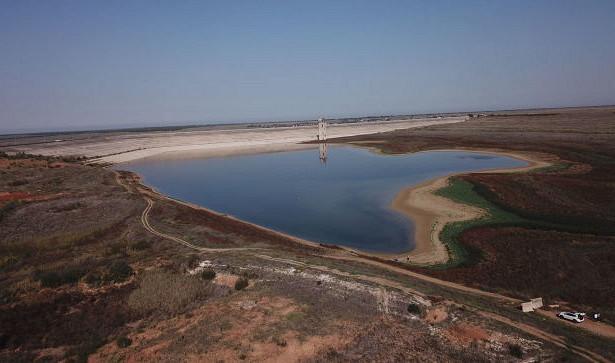 Критическое обмеление: сколько воды вМежгорном водохранилище— видео