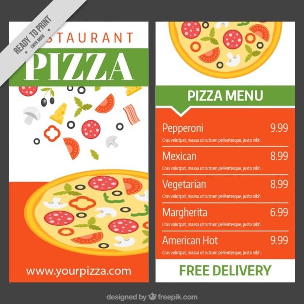 Меню Пиццерия Фотографии Картинки Изображения И Сток 7357665
