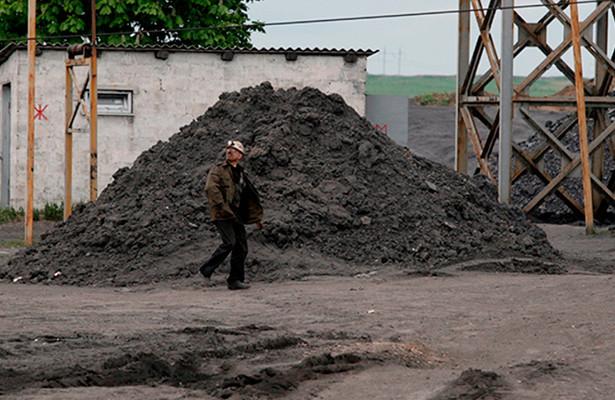 Запасы угля наУкраине рекордно снизились