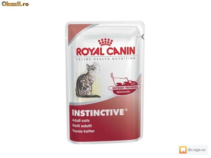 Корм royal canin gravy instinctive