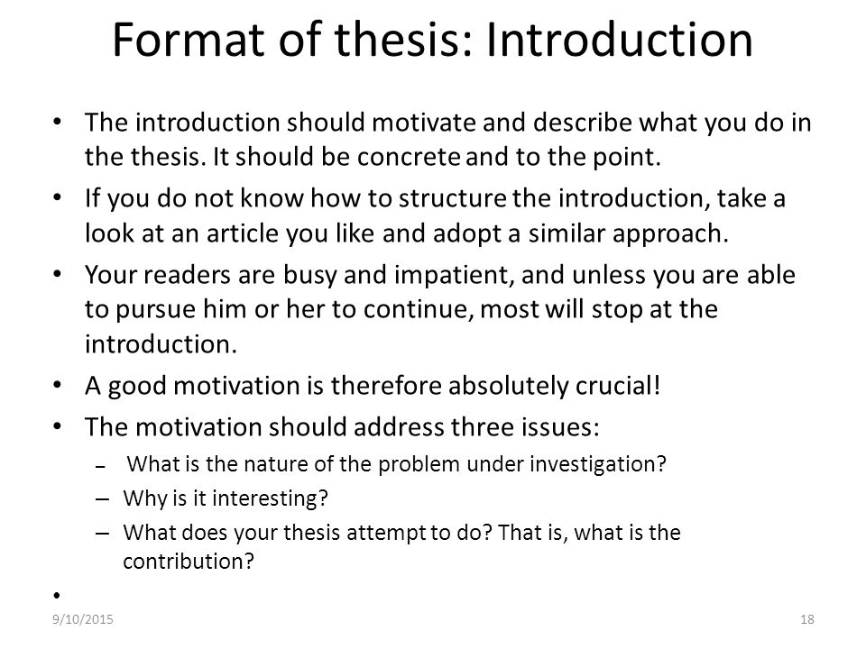 Examples of good introductions for essays