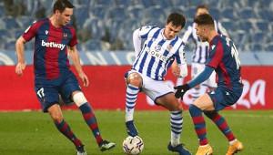 «Реал Сосьедад» минимально победил «Леванте»