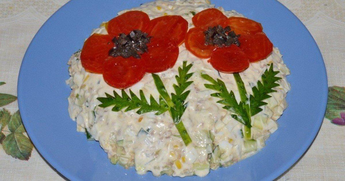 Быстрые и вкусные салаты на праздничный стол рецепты с фото