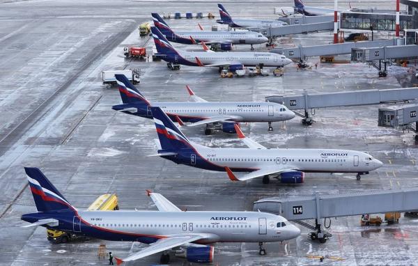 «Аэрофлот» продлил закрытие 90международных рейсов