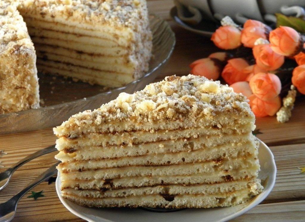 Торт рецепт с фото пошагово быстро