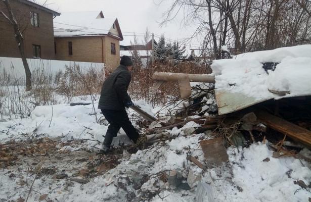 80кубометров мусора вывезено сконтейнерной площадки вКанавинском районе