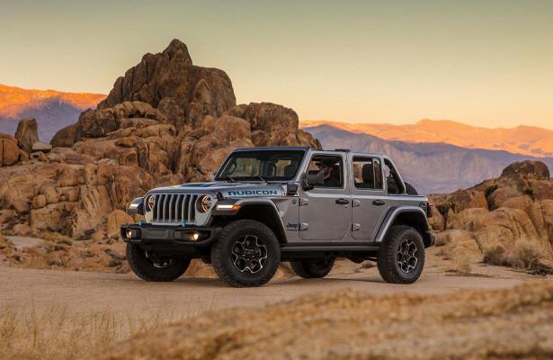 Гибридный Jeep Wrangler получил ценник