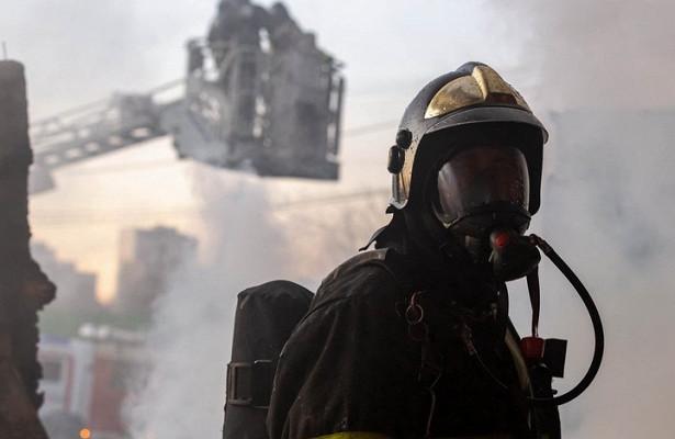 Подъезд загорелся вдоме наюго-востоке Москвы