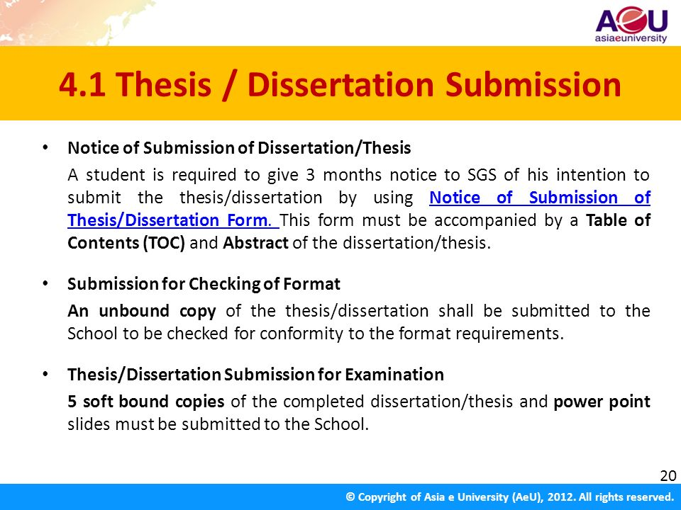 Submit Thesis/Dissertation - Stevens Institute of