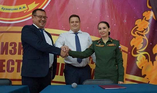 Пункт отбора навоенную службу поконтракту Чувашской Республики иадминистрация города Новочебоксарск заключили соглашение