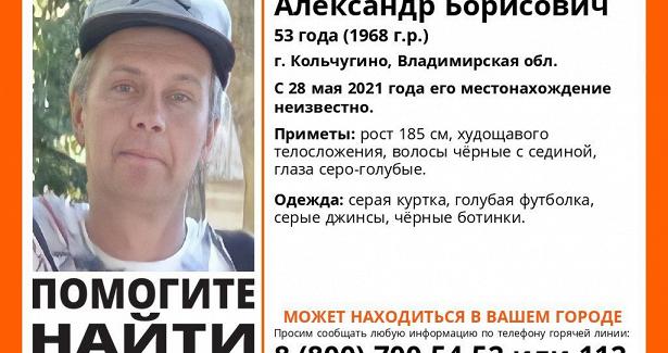 НаДону ищут пропавшего жителя Владимирской области