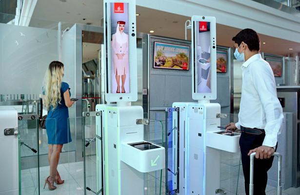 Ваэропорту Дубая внедрили бесконтактную посадку всамолеты Emirates