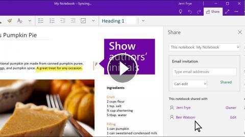 Microsoft onenote mode emploi
