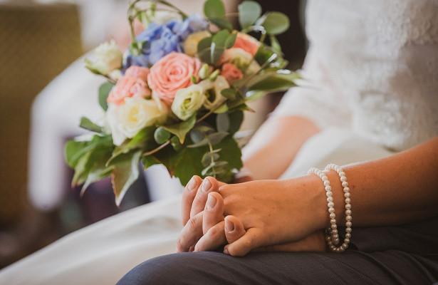 Перед изоляцией невеста организовала свадьбу задень