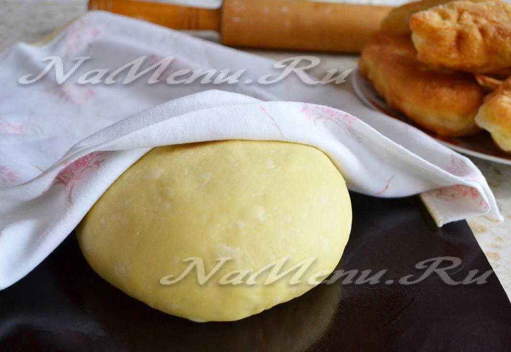 Быстрое дрожжевое тесто на пиццу рецепт с фото пошагово