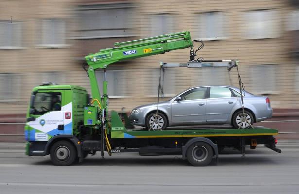 ВПодмосковье запустят сервис поотслеживанию эвакуированных авто