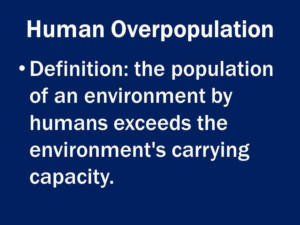 Over population essay