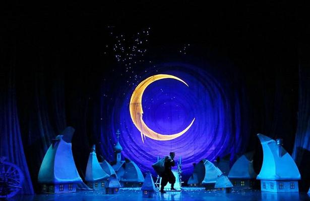 Опера «Ночь перед Рождеством» втеатре им. Сац