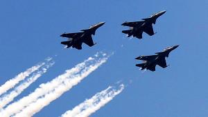 НадЕреваном заметили военную авиацию
