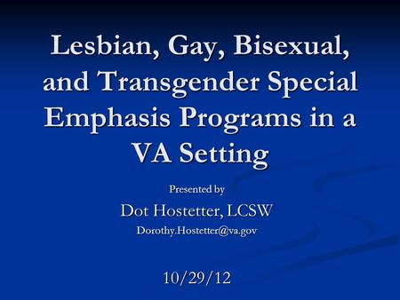 counseling gay bisexual transgendered individuals Gay, lesbian, bisexual, and transgender helpline services: the gay, lesbian, bisexual, and transgender hotline provides telephone and email peer counseling, as wells as factual information and local resources for cities and towns across the united states.
