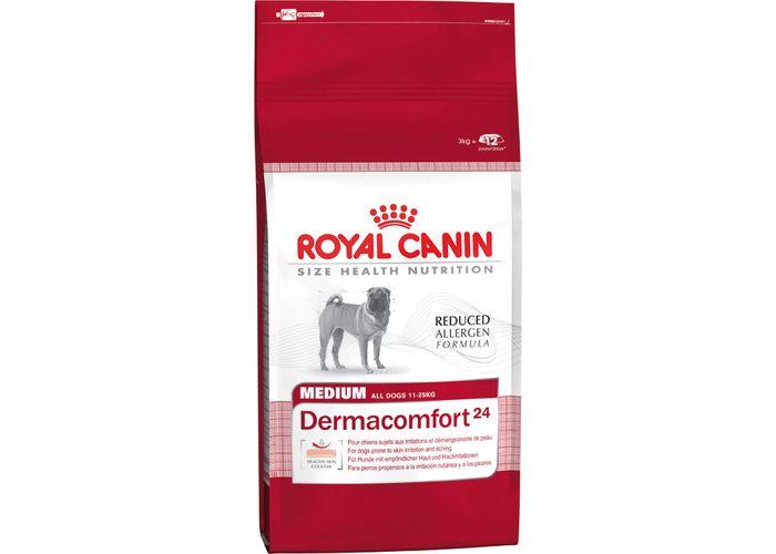 Dermacomfort корм royal canin maxi