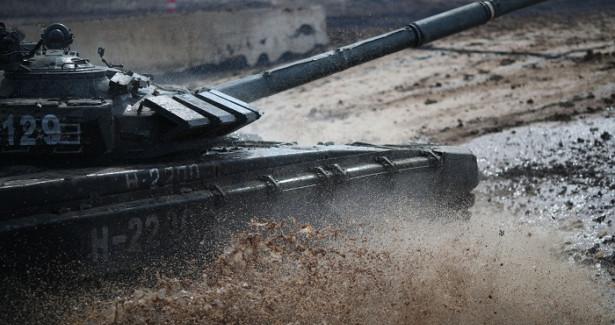 Волгоградские танкисты отмечают свой праздник