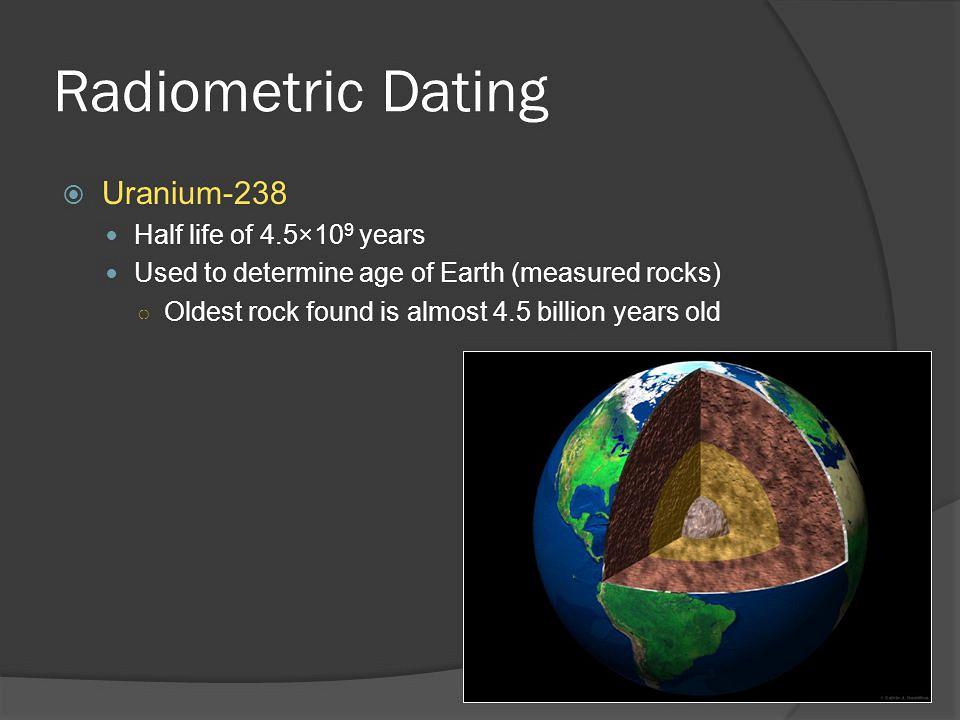 What is uranium series dating