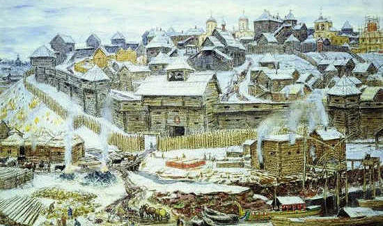 Дубовые стены Московского Кремля заложили почти семь веков назад