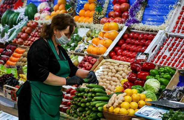 Росстат сообщил оросте ценнаовощи, мясо куримаргарин