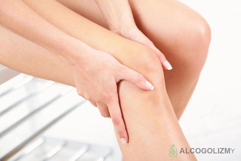 Чем лечить ноги после запоя