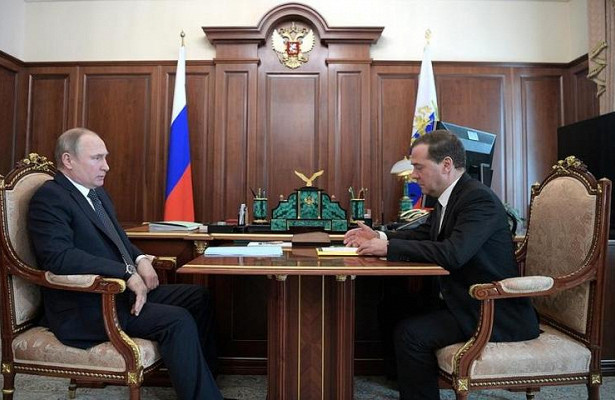 Медведев заявил, чтоситуация вэкономике России абсолютно стабильная