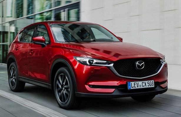 Mazda анонсировала выход обновленного CX-5