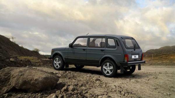 АвтоВАЗ выпустил новую версию Lada Niva