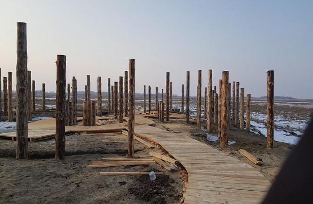 ВКурганской области наместе археологического объекта строят музей