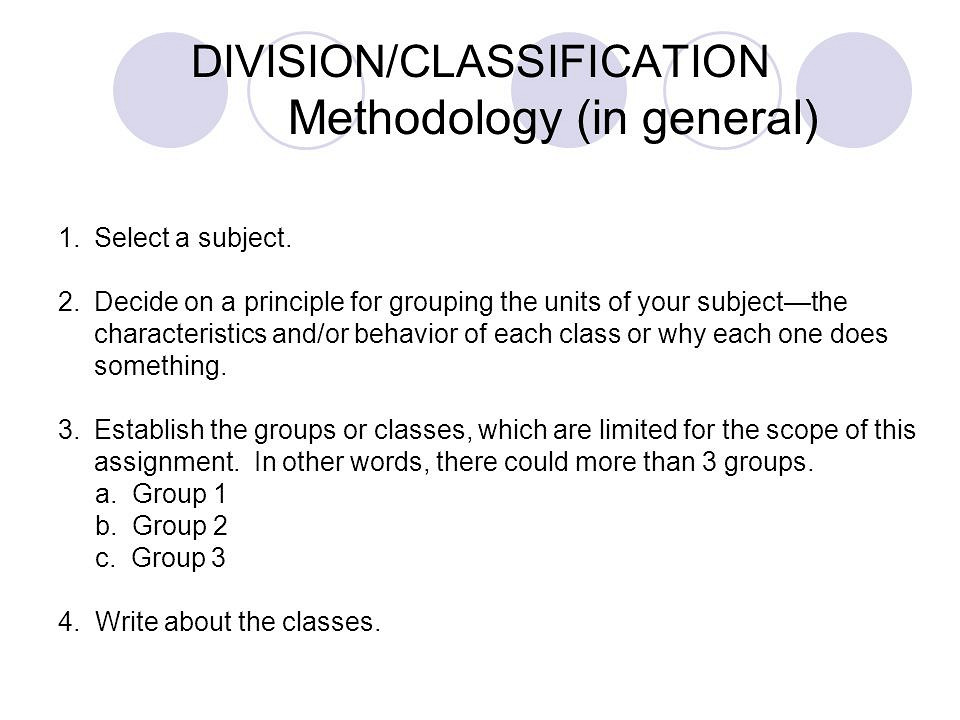 Sample division essay