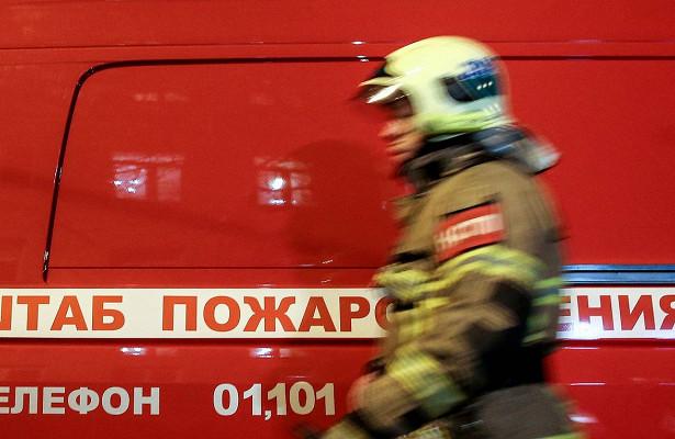 Пожара произошел напарковке возле ТЦнаюгеМосквы