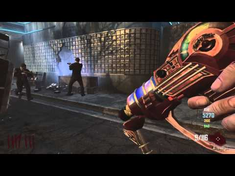 Call Of Duty: Black Ops 2 Zombies - Tranzit Knife Lunge