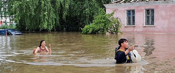 ВСовбезе Украины пошутили опострадавшем отпотопа Крыме