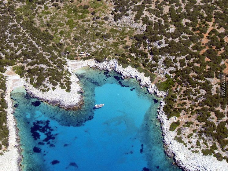 Студия в остров Скирос на берегу моря в остров Скирос