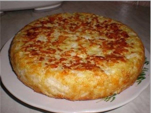 Быстрый пирог с капустой и яйцом рецепт с фото