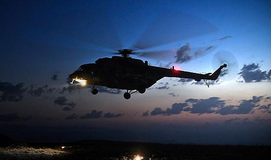 ВСмоленской области экипажи «Терминаторов» и«Ночных охотников» ЗВОпровели ночную радиоэлектронную разведку