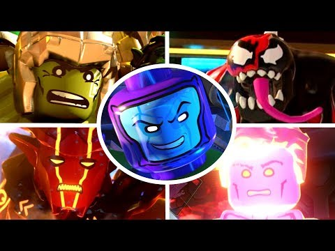 LEGO Marvel Superheroes 2 - Part 1 - Kang Attacks!