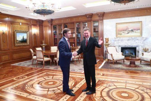 Клычков заявил оподдержке Орловской области «Газпромом»