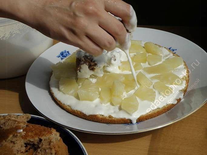 торт панчо рецепт с фото из готовых коржей