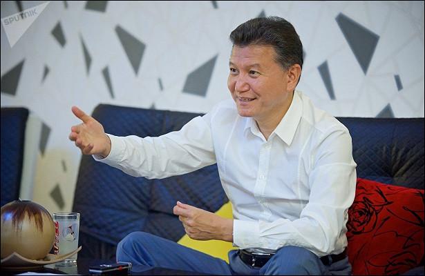 Президент ФИДЕ: хочу, чтобы вшахматы играл миллиард человек