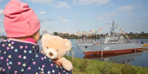 ВПетербурге спустили наводу корабль противоминной обороны проекта 12700 «Георгий Курбатов»