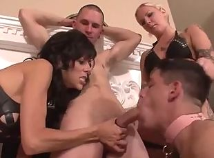 Stepmom masturbating with son