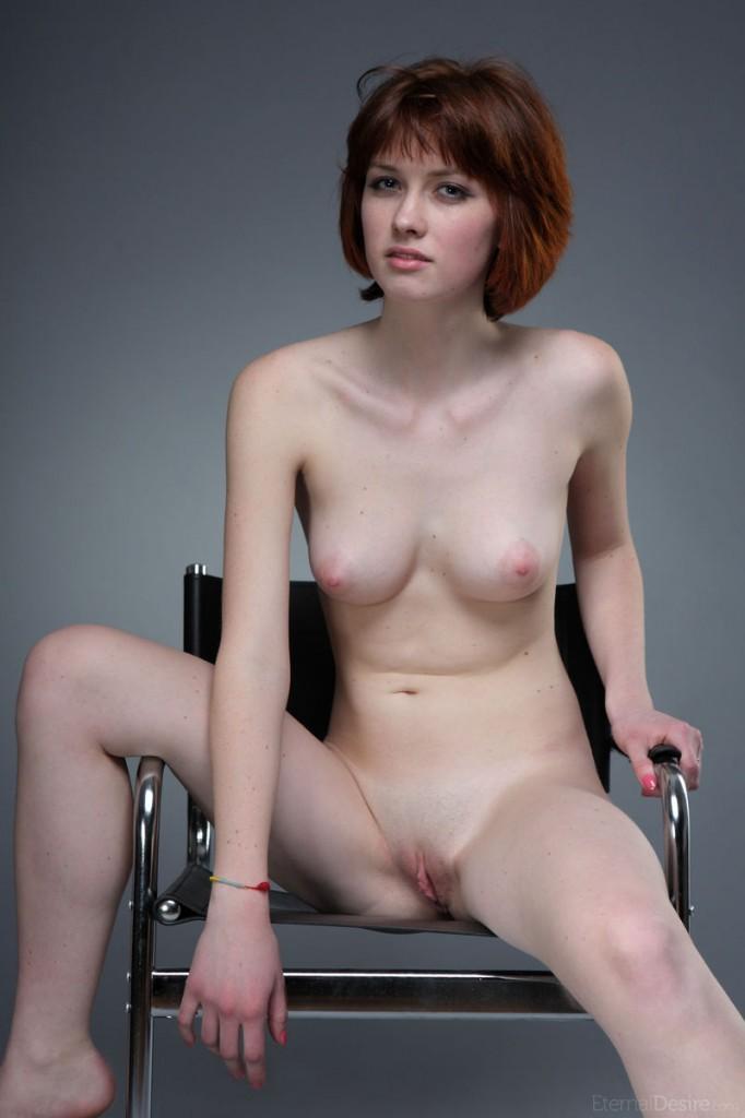 Hair women naked short redhead