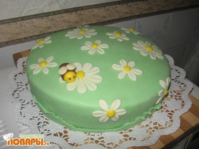 Оформление тортов мастикой с фото